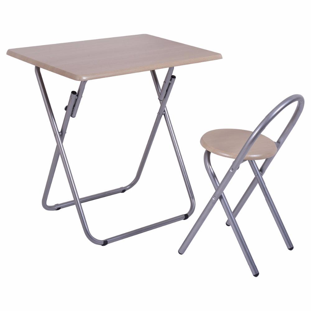 Kid's Folding Study Desk & Chair Set