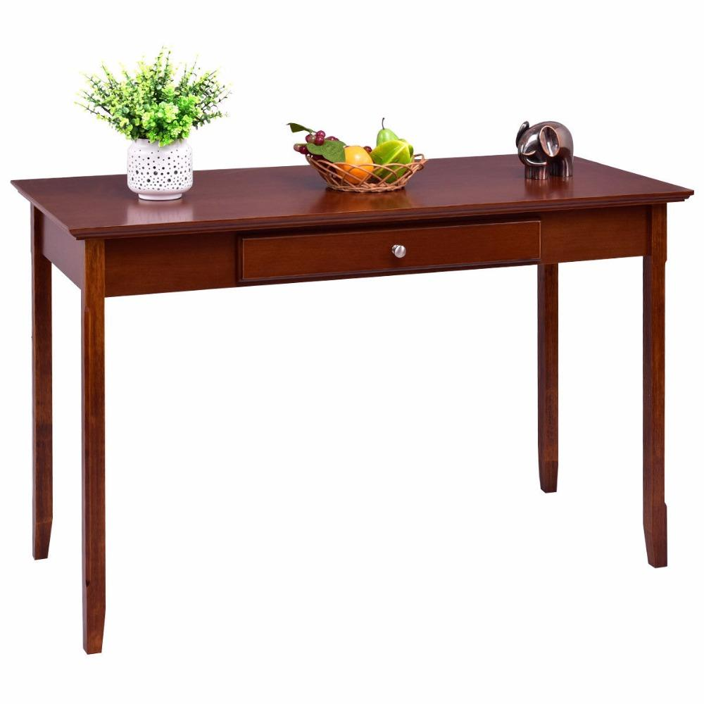 Wood Entryway Console Table