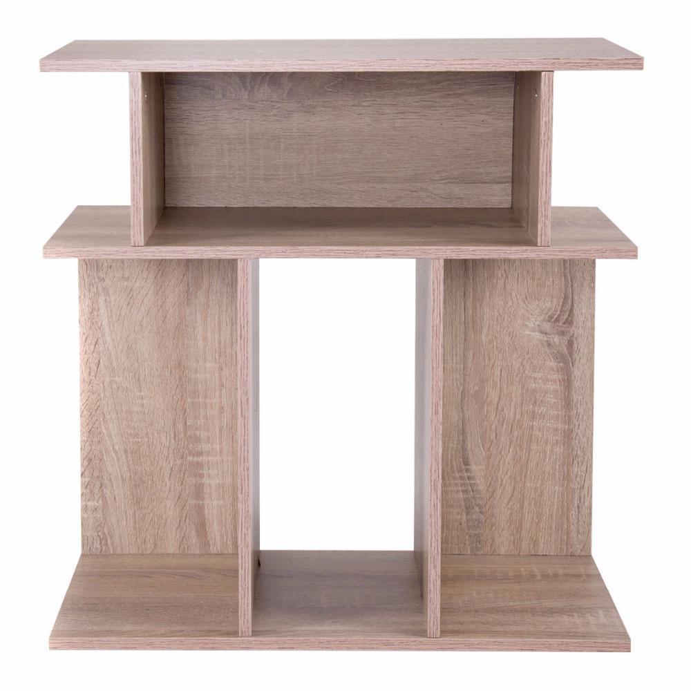 Modern Wood End Side Table