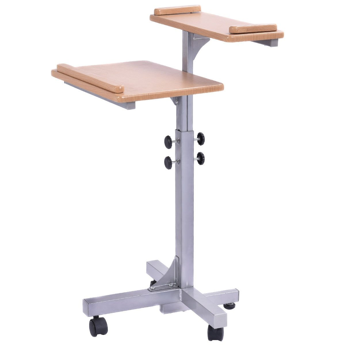 Adjustable Portable Rolling Laptop Stand