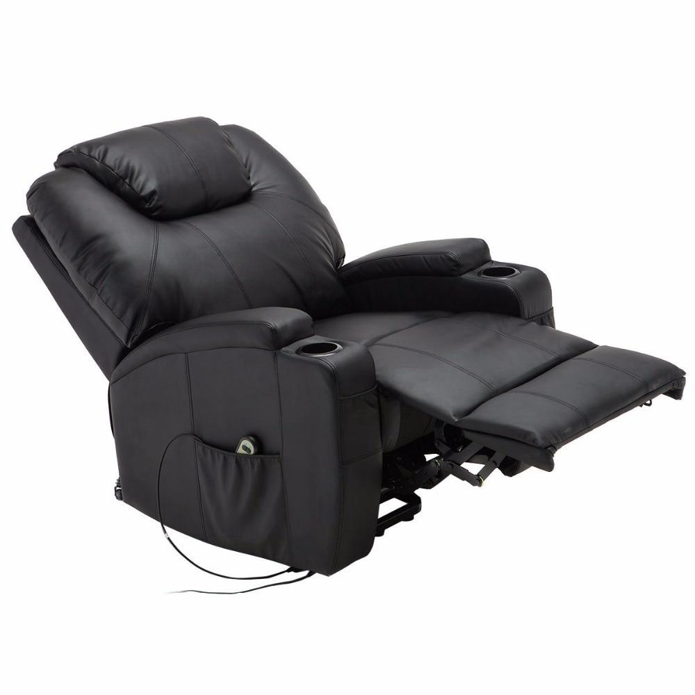 Electric Heated, Massage, & Lift Power Recliner