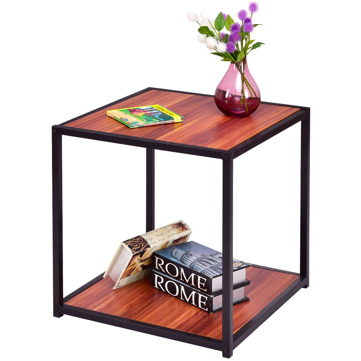 Modern Square Coffee or Tea End Table