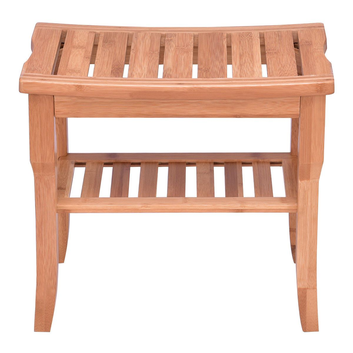 Bamboo Shower Seat Bench