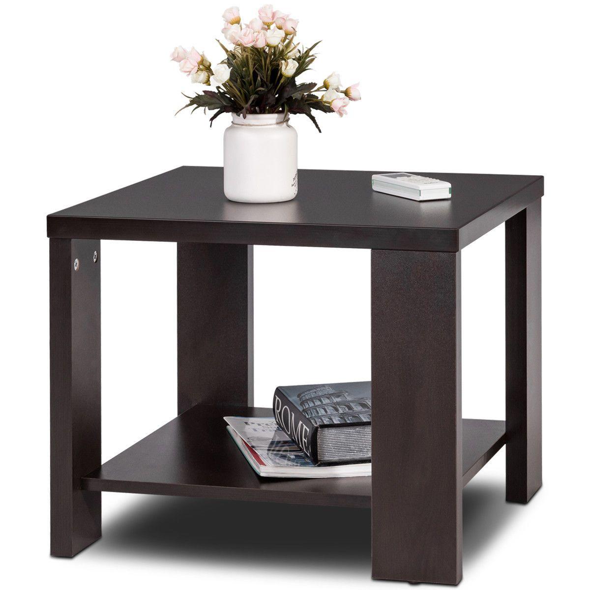Coffee Square End Table Sofa