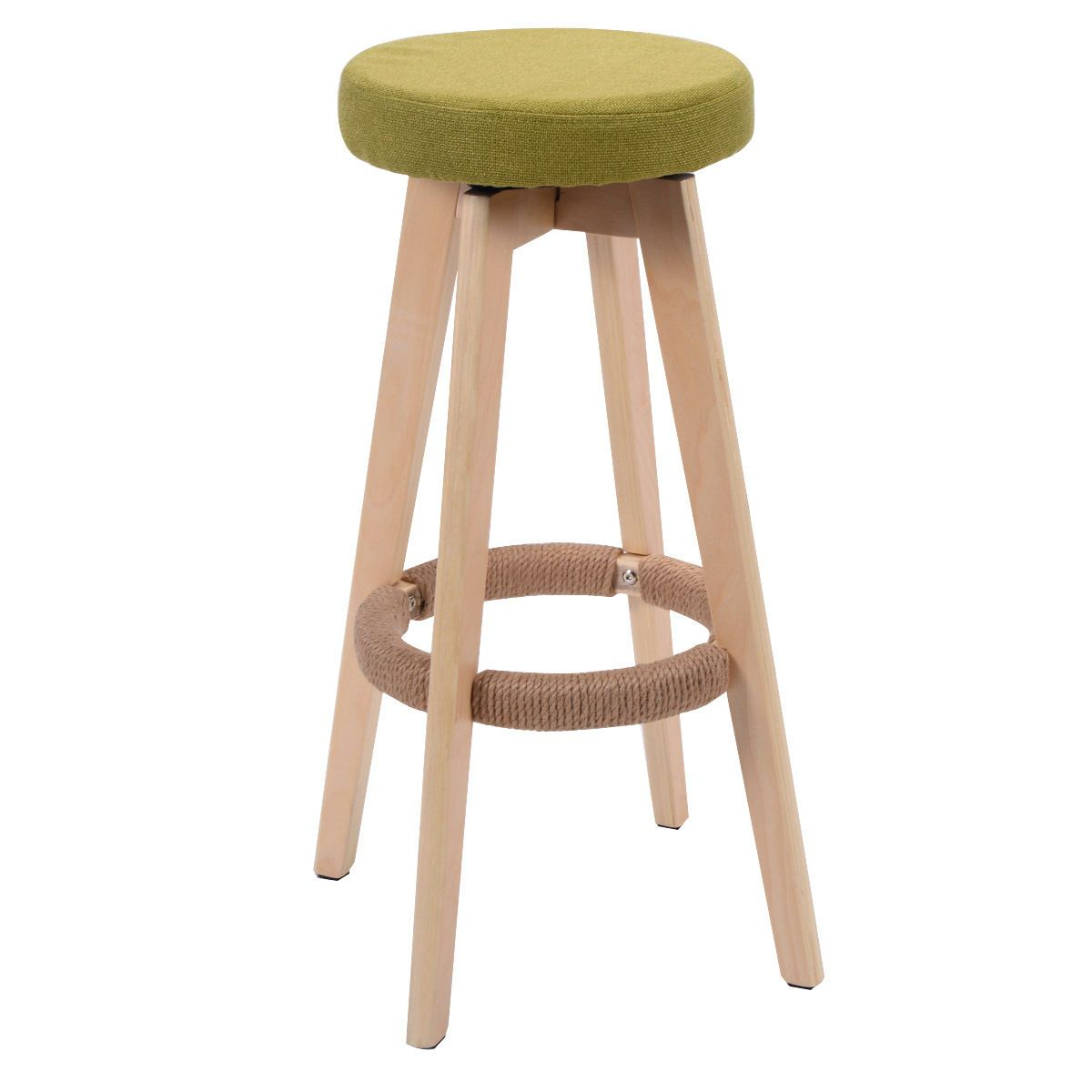 29″ Round Wood Bar Stool