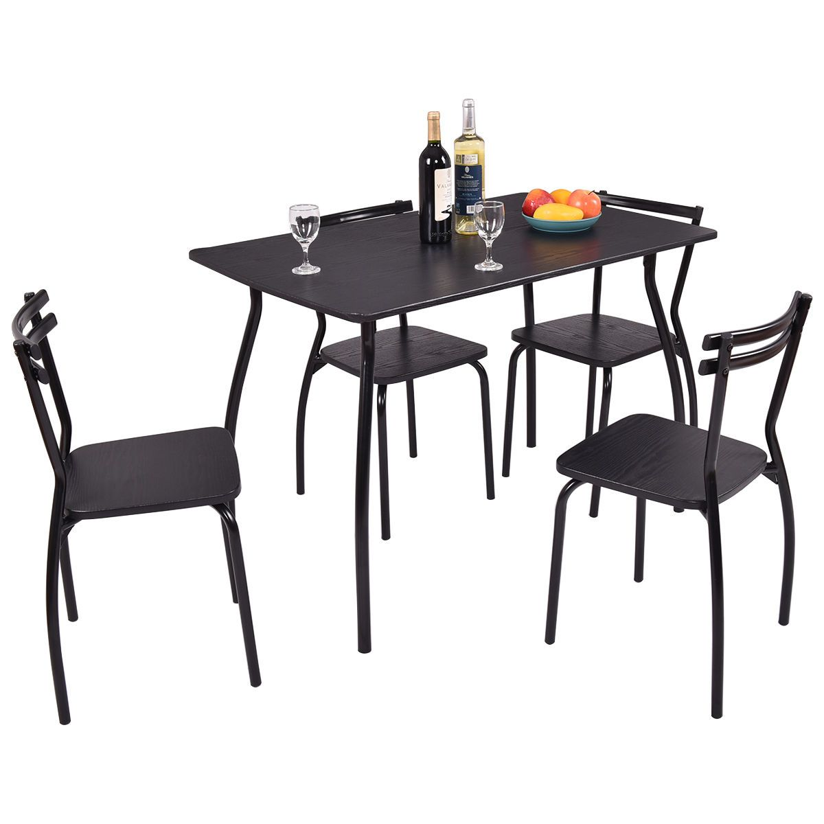 5 Piece Modern Home Kitchen Dining Set