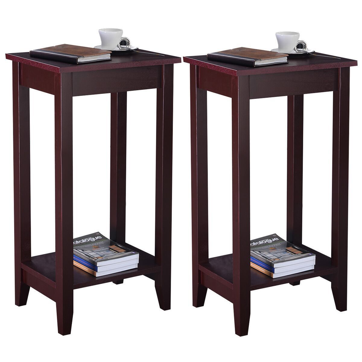 2 Piece Tall End Table Stands