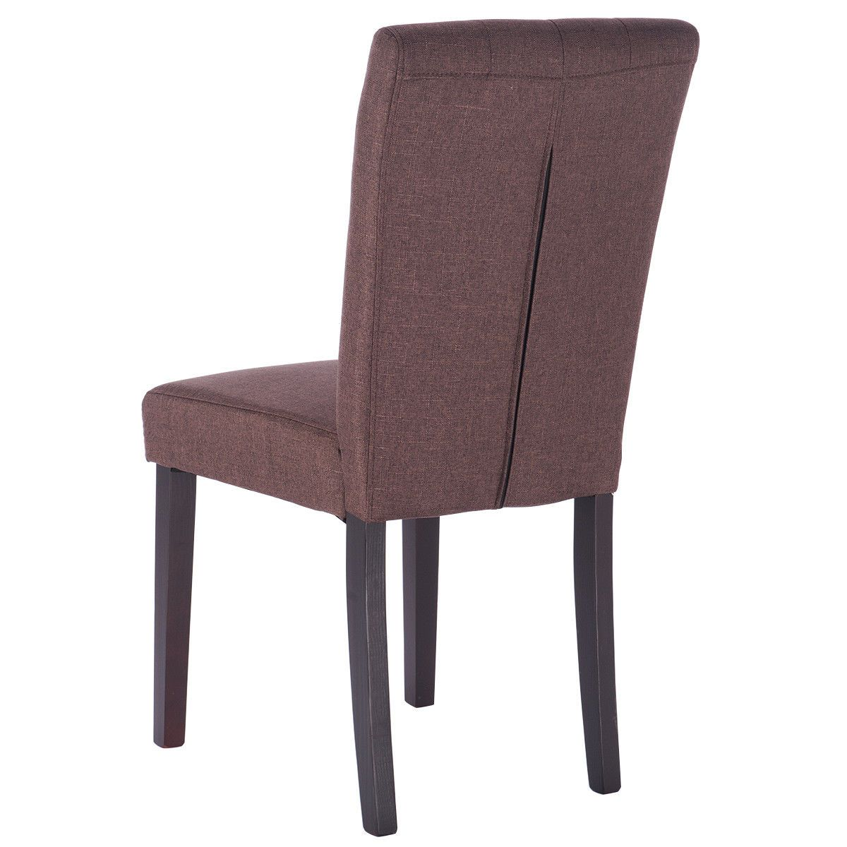 2 Piece Modern Accent Tufted Upholstered Dining Chairs