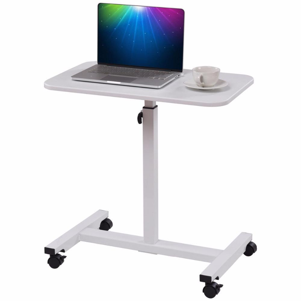 Adjustable Rolling Mobile Laptop Stand