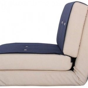 Navy Convertible Folding Sofa Bed