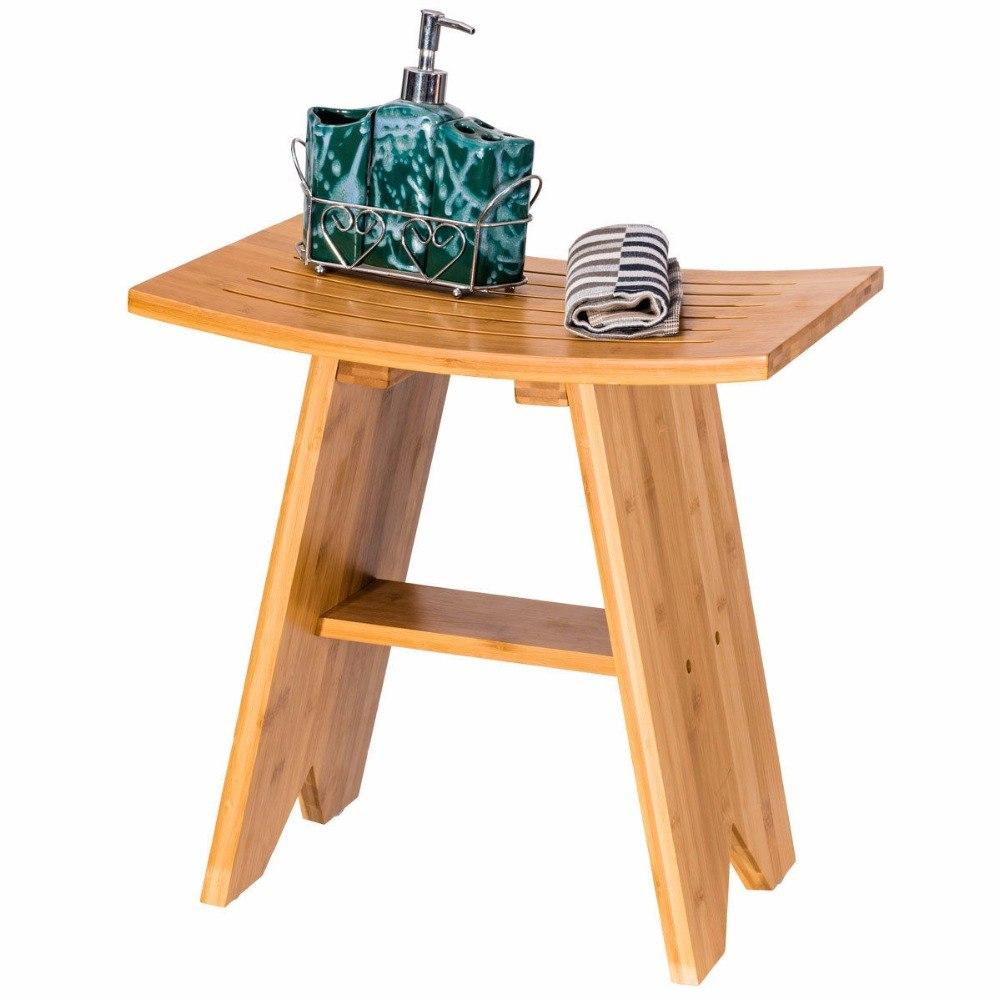 18″ Bamboo Shower Seat Bench