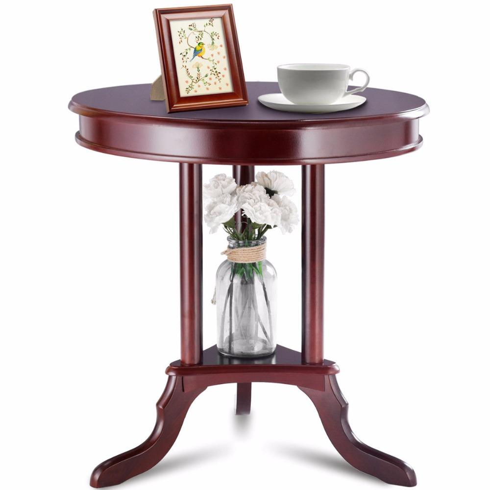 Round End or Side Table