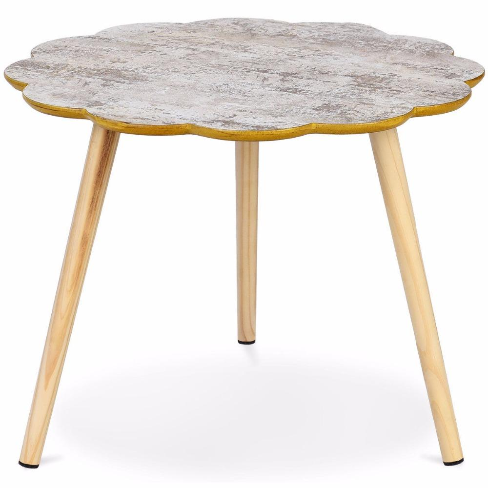 Flower Shaped End Table