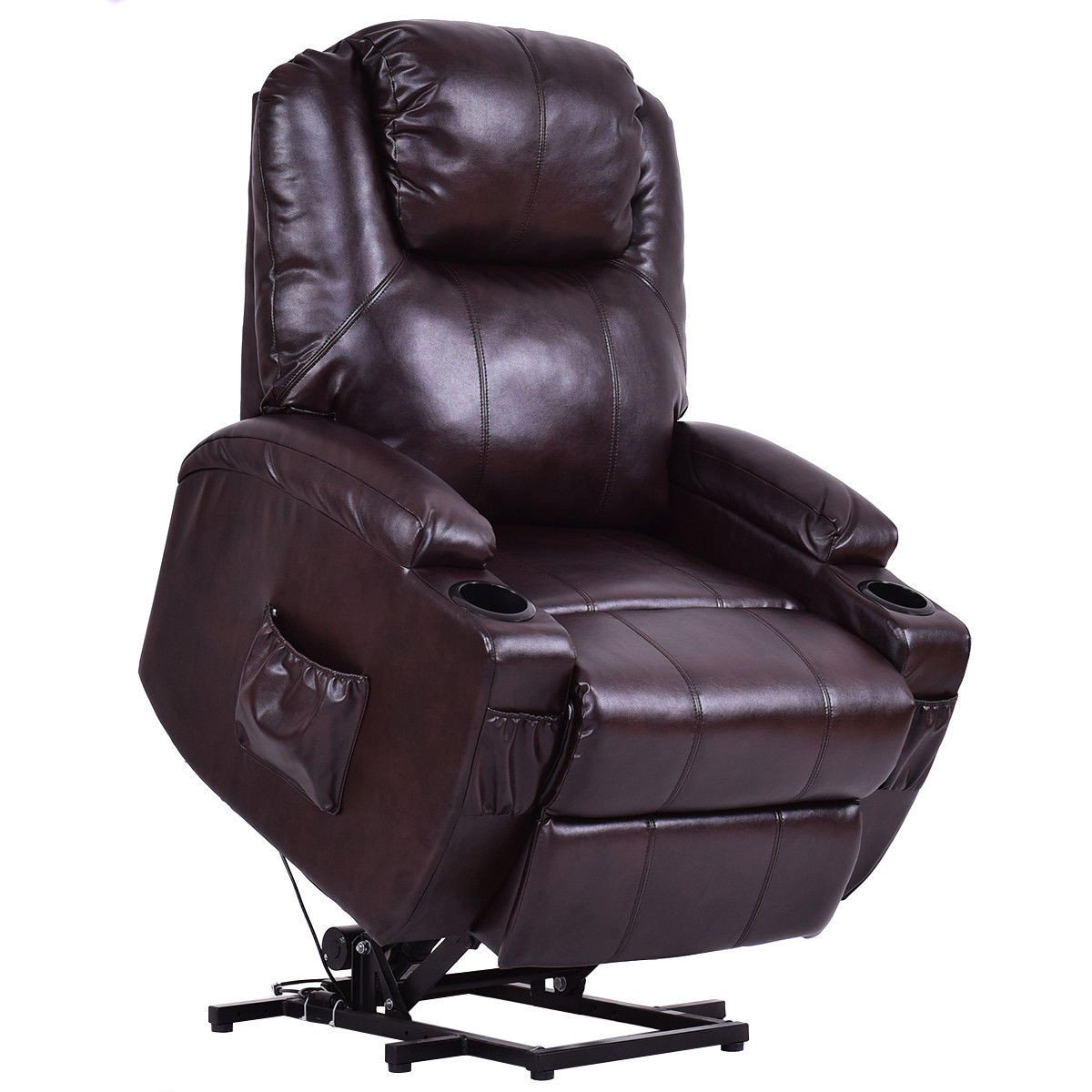 Electric Power Leather Lift Chair Recliner