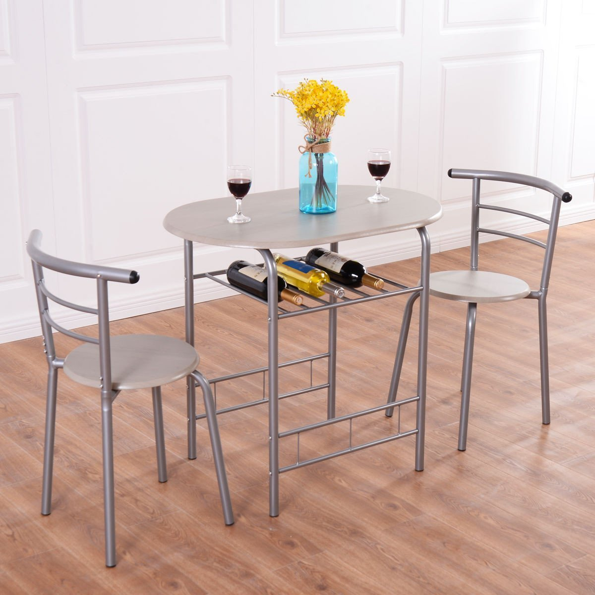 3 Piece Bistro Dining Table Set