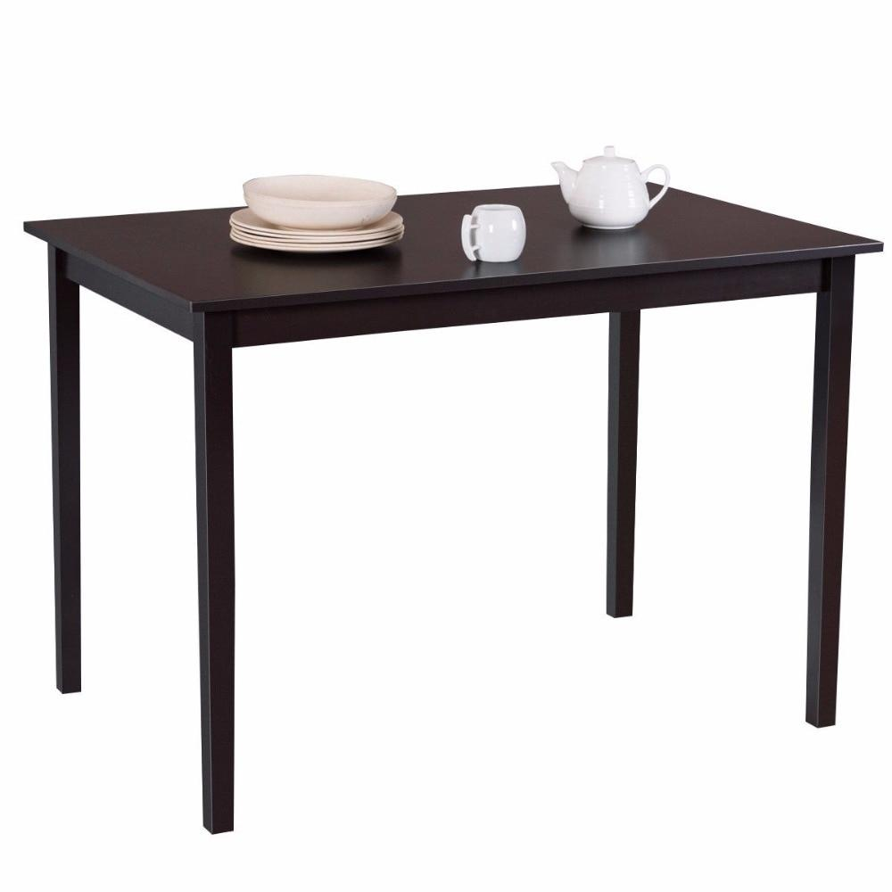Modern Rectangle Wood Dining Table