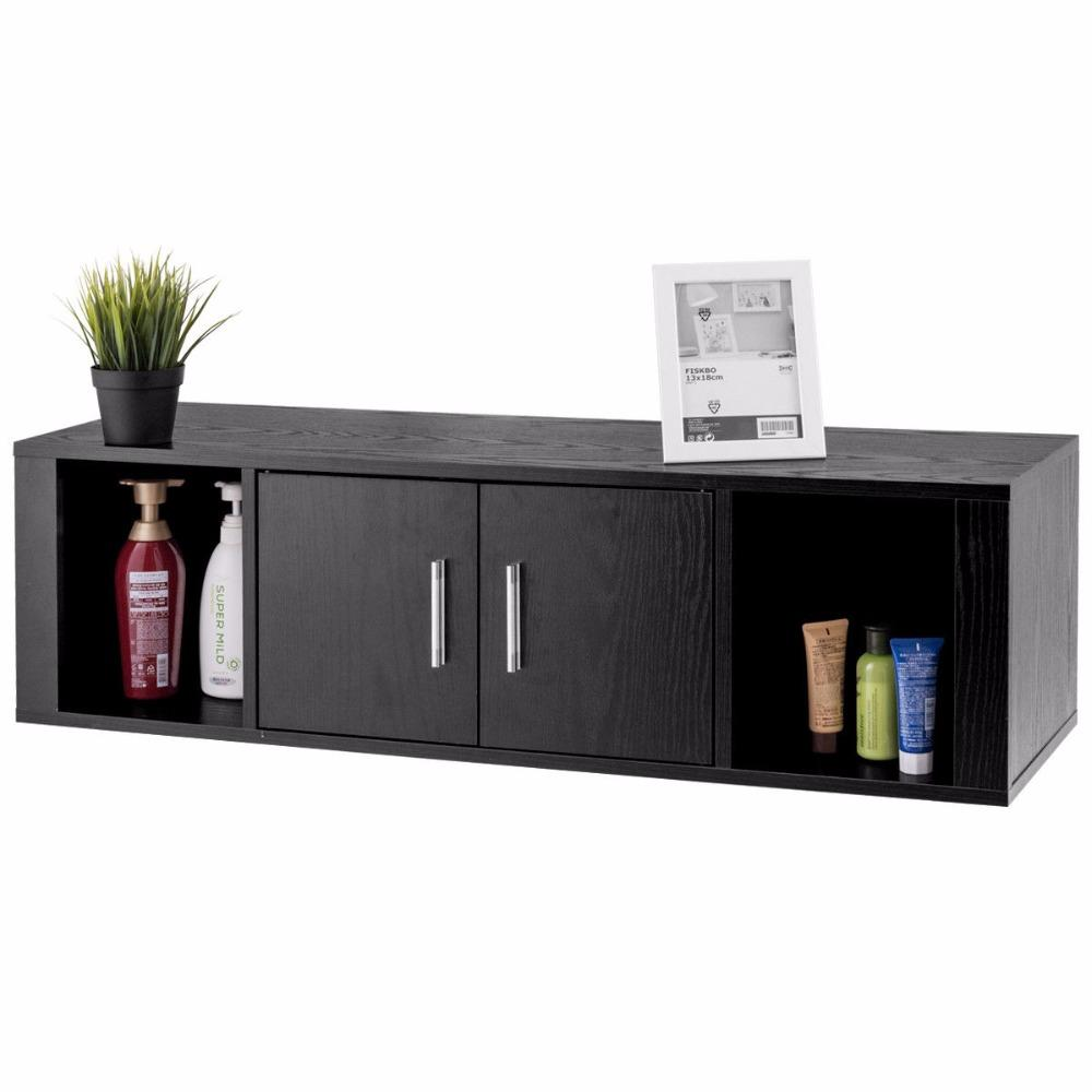 Wall Mounted Floating Desk Hutch